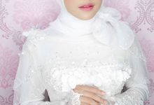 Modern Hijab Bride Lookbook by Winona Makeup & Bridal