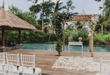 Bali Wedding - Seseh Beach Villas - Kelly & Patrick by Global Weddings