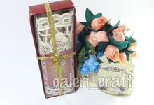 Tatakan Gelas Cantik  by Galeri Craft