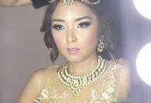 The BRIDE - Carina Caroline Sitepu by Beyond Makeup Indonesia