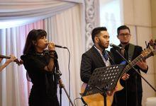 Wedding dr. Shilla & dr. Rizky by dewwimusicentertainment