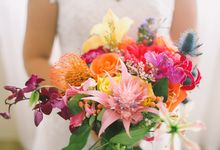A Tropical Bliss Wedding by Air Balloon Project Wedding Photography