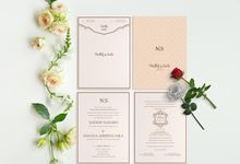 Nadhif & Saila Wedding by Pentone Craft and Paper