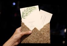 Classic Botanical Invitation by Kiyo Cards and Favors