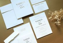 Nathan & Ana by Vinas Invitation