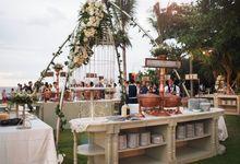 Lonardo and Felicia s wedding with ocean view by DASA Catering