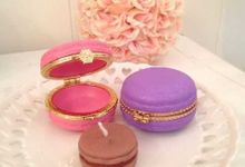 various macaroon favor by Red Ribbon Gift