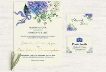 Wedding Invitation For Zhella & Edwin by Pentone Craft and Paper