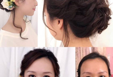 Before and after by PonnieHsu Makeup Studio
