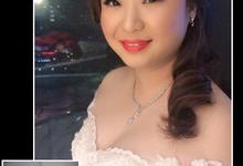 Bridal makeup  by PonnieHsu Makeup Studio
