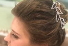 Bridal hair  by PonnieHsu Makeup Studio