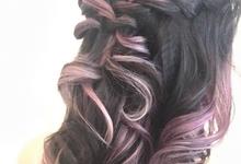 Wedding hair style  by PonnieHsu Makeup Studio