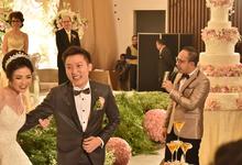 The Wedding Alfin & Hana at Le Meridien  by Premiere Entertainment