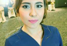 Bridesmaid Makeup by Jessie Tan