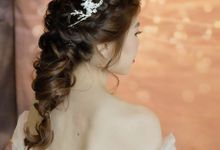 Shu Zhen Prewedding photoshoot by Charlane Yu Makeup and Hair