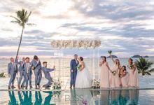 Ruth & Sam wedding at Conrad Koh Samui by BLISS Events & Weddings Thailand