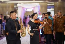 Wedding dr. Shilla & dr. Rizky by dewwimusicentertainment