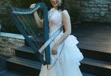 Maria Pratiwi Harpist by Alethea Sposa