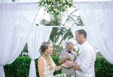 Sascha & Peter Wedding by Bali Berdua Wedding