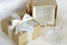 Scotch Glass Single by Red Ribbon Gift