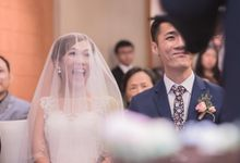 Actual Wedding Day - Sebastian & Cherlynn (Holy Matrimony & Banquet) by A Merry Moment