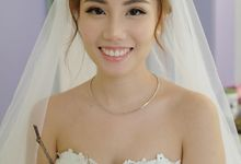 Wedding Day Xiao Yong & Melissa by Charlane Yu Makeup and Hair