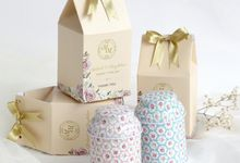 Mini Tea Tin for favor - Michael & Maydeline by Red Ribbon Gift
