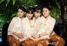 Traditional wedding / wedding adat by STILETTO PAGAR AYU