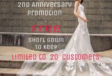Anniversary Promotion by Alisha & Lace