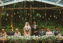 Pine Forrest Wedding of Ika & Ganda by Bojou Weddings