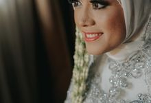 The wedding Yudhi & Velia by BAMS Picture