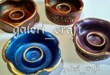 Souvenir Asbak  by Galeri Craft