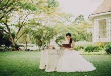 Garden Wedding by Baby Cakes