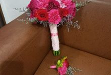 Handbouquet For Nana by nanami florist
