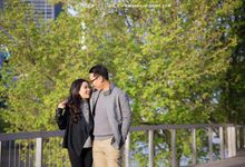 Melbourne Prewedding by Elmer by Monopictura