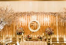 Rustic Golden Anniversary by Sentra Bunga