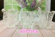 Candle Holder Glass by Alleriea Wedding Gifts